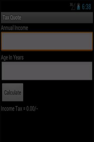 India Income-Tax Calculator