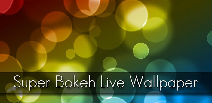 Super Bokeh Live Wallpaper Pro apk