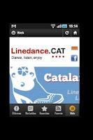 Screenshot of Linedance.cat English