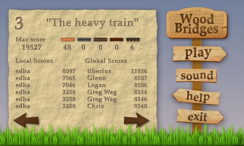 Wood Bridges - screenshot