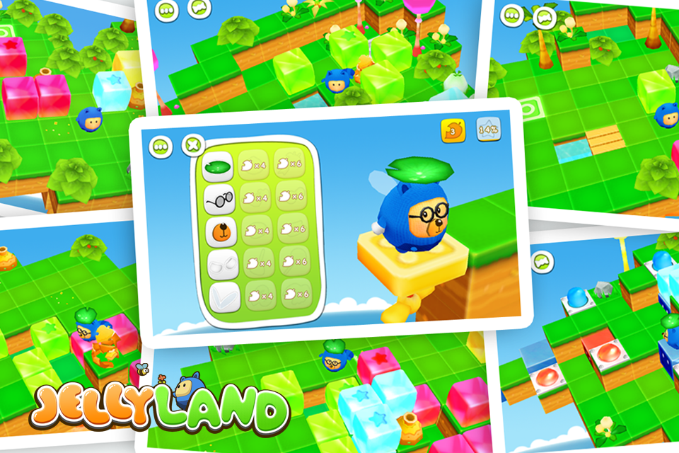 Jelly Land Free- screenshot