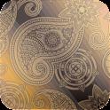 elegant paisley wallpaper 42 icon