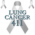 Lung Cancer 411 logo