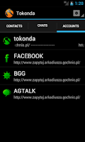 Screenshot of Tokonda Messenger