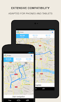 Screenshot of GPS Navigation & Maps - Scout
