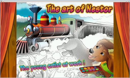 Nestor Fairy Tale Coloring