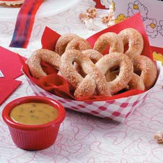 Soft Pretzels with Mustard.