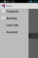 Screenshot of Tracah : Locate your callers