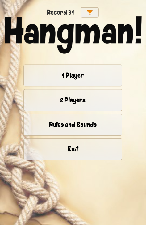 Hangman! - screenshot