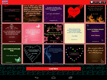 Love Quotes Box - screenshot thumbnail