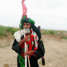 Faqeer by Lalaji Anwar - People Portraits of Men ( happy, east, devotee, people, faqeer )