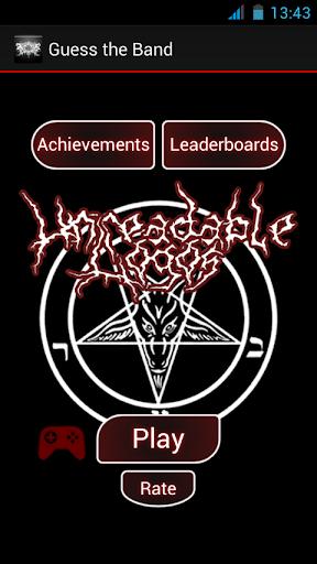 Guess the Band Metal Logo Quiz