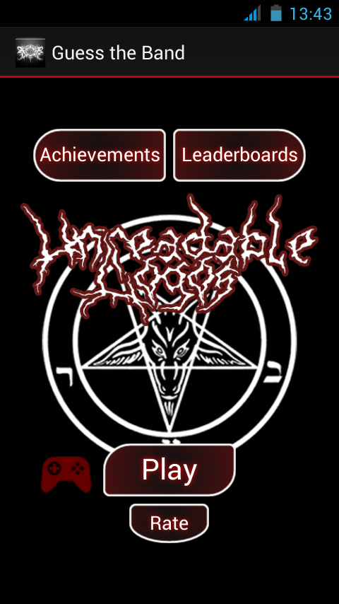 Guess the Band Metal Logo Quiz- screenshot