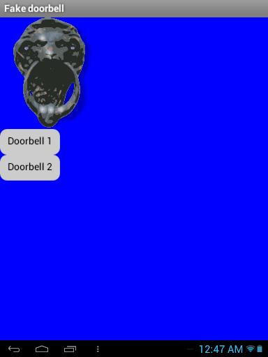 【免費娛樂App】Fake Doorbell-APP點子