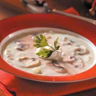Elegant Mushroom Soup.