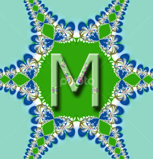 Alphabet A Love M Wallpaper Shajara
