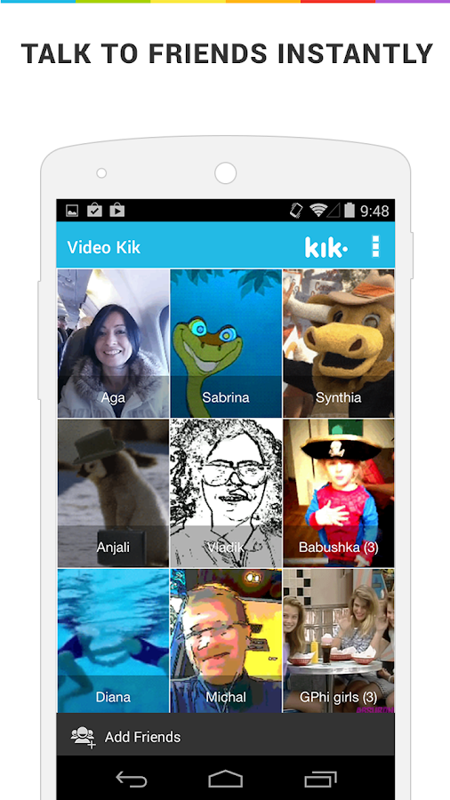 Video Kik - Fun Video Messages - screenshot
