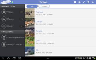 Screenshot of Samsung Wireless