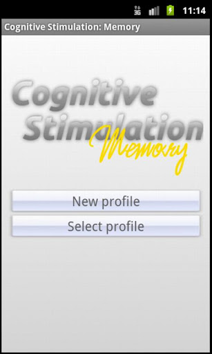 Cognitive Stimulation: Memory