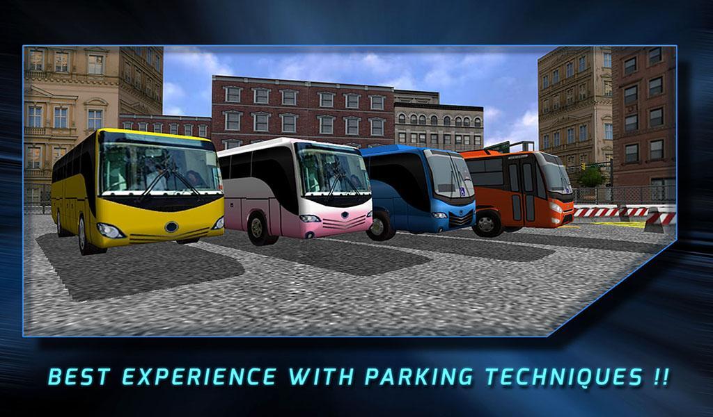 games bus parking 3d