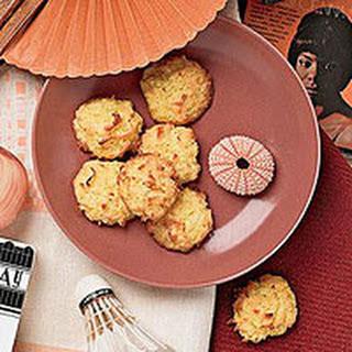 Crunchy Coconut Cookies.