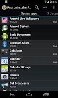 Screenshot of Root Uninstaller Pro