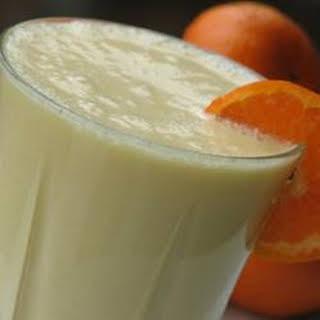 Orange Cream Milkshake.