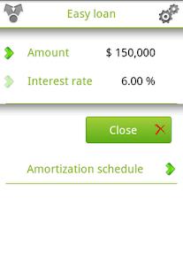 Easy loan - screenshot thumbnail