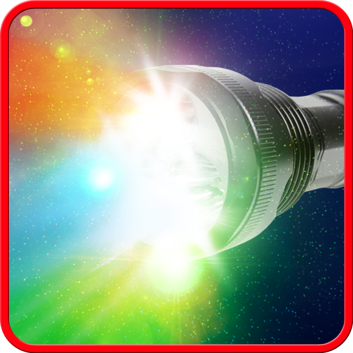 Crazy flashlight. Icon