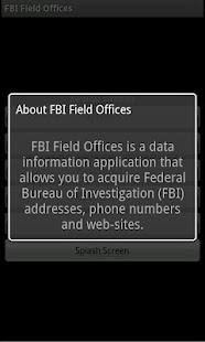 FBI Field Offices for Phones- screenshot thumbnail