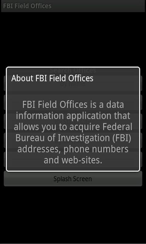 FBI Field Offices for Phones screenshot #8
