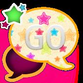 GO SMS THEME/GirlyStars2