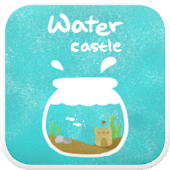 Water Castle go locker theme