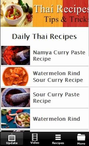 THAI Foods Recipes FREE