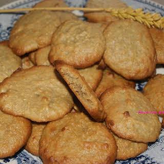 Orange and Oatmeal Cookies.
