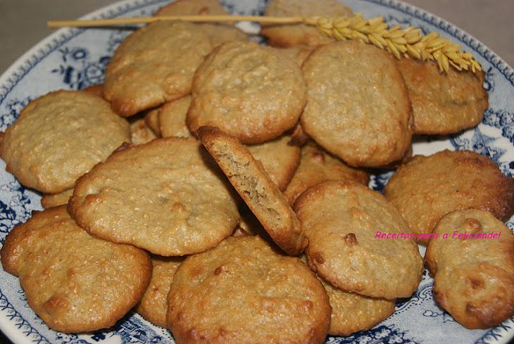 Orange and Oatmeal Cookies