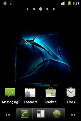 Shark 3D Live Wallpaper - screenshot