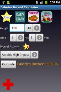Calories Burned Calculator - screenshot thumbnail