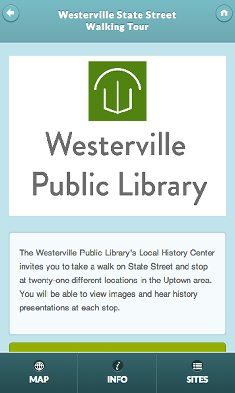 Westerville History Center- screenshot