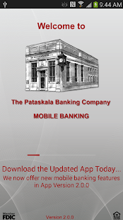 Pataskala Bank Mobile Banking - screenshot thumbnail