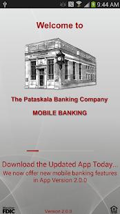 Pataskala Bank Mobile Banking - screenshot thumbnail