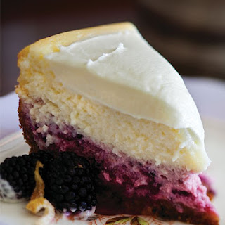 Lemon-Blackberry Cheesecake