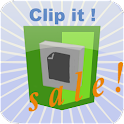 Clip it! forEvernote&Flipboard icon