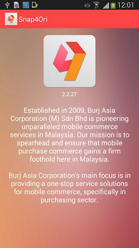 【免費商業App】Snap4Ori-APP點子