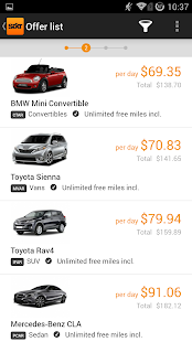 Sixt Rent a Car - screenshot thumbnail