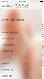 Dr Foot's Foot Pain Identifier- screenshot thumbnail