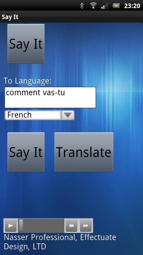Say It- screenshot