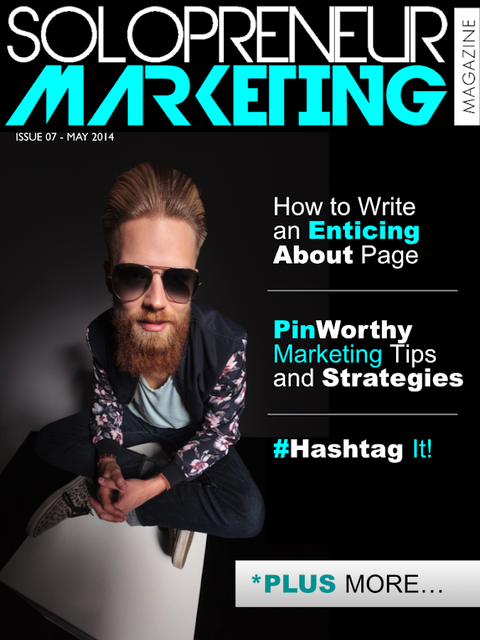 Solopreneur Marketing Magazine- screenshot