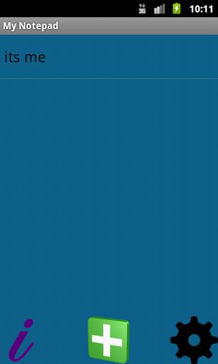 【免費個人化App】My Notepad-APP點子