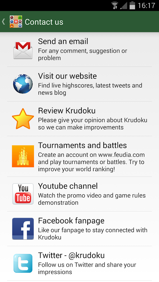 Krudoku- screenshot